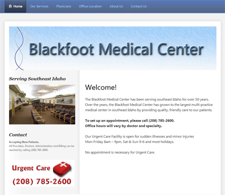 Blackfoot Medical Center Screenshot
