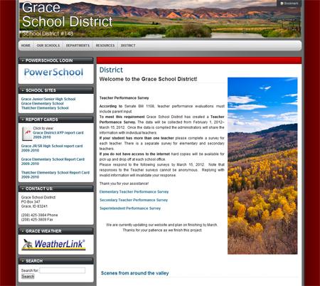 Grace School District Screenshot